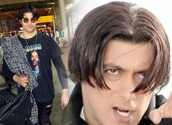 Star kid Aarav Bhatia's latest hairstyle to remind Salman Khan in Tere Naam!
