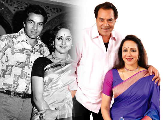 I could express feeling of love due to Dharamji, says Hema Malini!