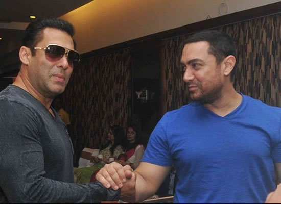 Aamir Khan's sweet message for buddy Salman's Race 3!