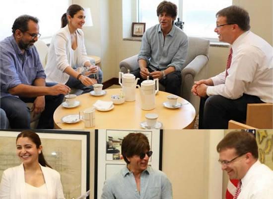 SRK and Anushka Sharma to visit US Consulate in Mumbai for Zero!