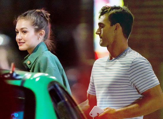 Tyler Cameron's romantic date with Gigi Hadid in New York!