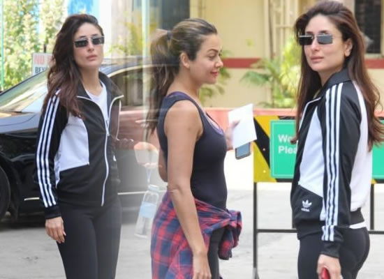 Kareena Kapoor Khan's stylish gym avatar!