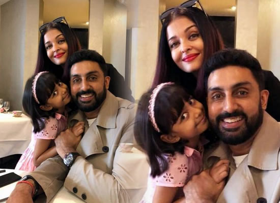 Abhishek Bachchan to join Aishwarya and Aaradhya for a vacation in Paris!