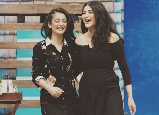 Shruti Haasan's sweet message for sister Akshara Haasan!