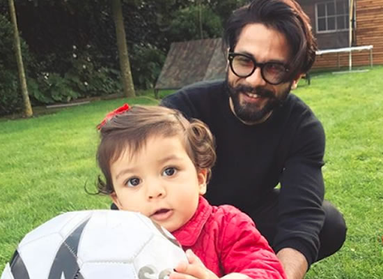 Shahid Kapoor shares an adorable photo with Misha Kapoor!