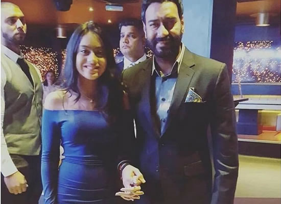 Nysa Devgn never talks about being an actress, says Ajay Devgn!