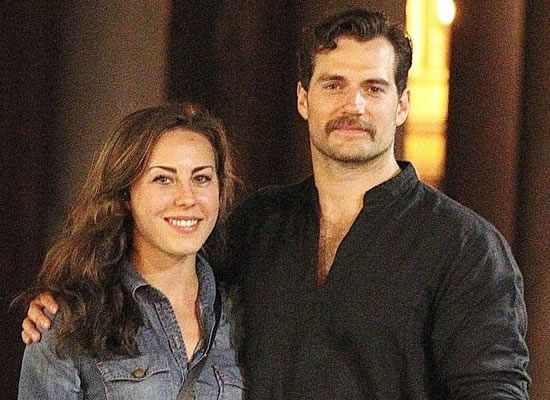 Actor Henry Cavill spotted with real-life 'Wonder Woman'!