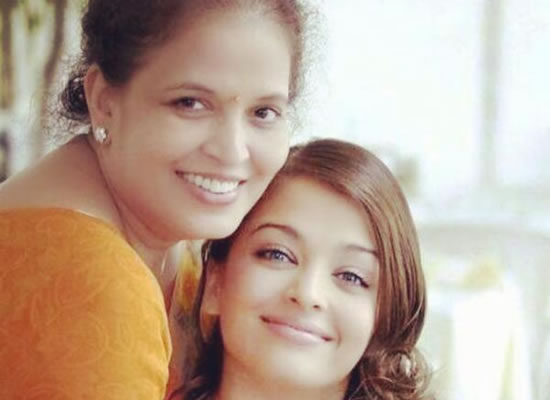 Aishwarya's birthday wish to her mom with a lovely throwback snapshot!