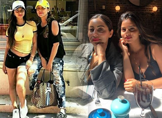 Suhana Khan and Gauri Khan's stylish look during New York vacation!