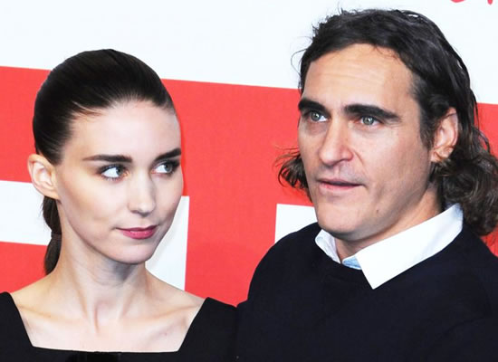 Joaquin Phoenix and Rooney Mara 'fell in love' while filming biblical movie in Italy!