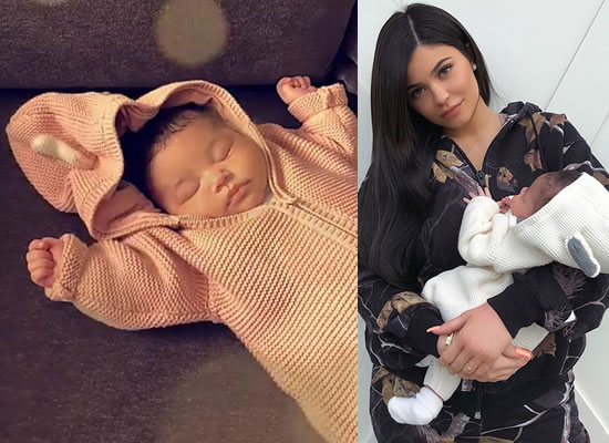 Kylie Jenner shares daughter Stormi Webster's loveable snap!