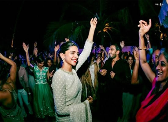 Bride Deepika and groom Ranveer to dance with their families at formal dinner!