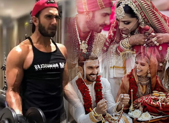 Ranveer Singh shed weight for his marriage in a week?