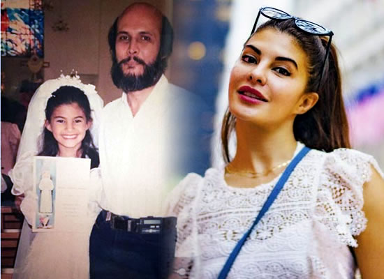 Jacqueline Fernandez's loveable childhood snap with her father!