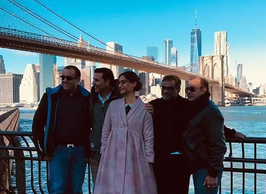 PadMan's shooting in New York with Akshay Kumar and Sonam Kapoor!
