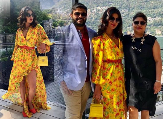 Priyanka Chopra to enjoy some quality time with family in Italy!