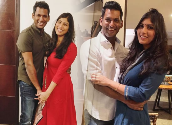 Tamil actor Vishal and actress Anisha Alla to get engaged on March 16!