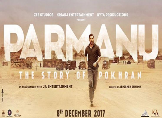 John Abraham's intense look in the new poster of Parmanu!