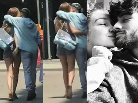 Zayn Malik and Gigi Hadid's romantic moments on the streets of New York!