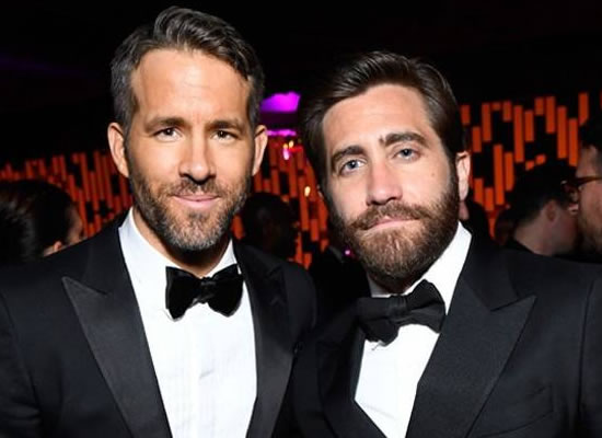 Jake Gyllenhaal to talk about his feud with Ryan Reynolds!