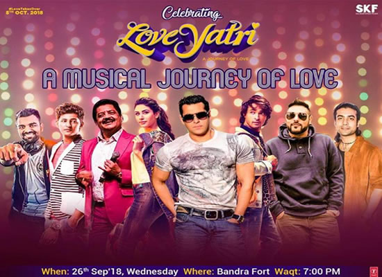 Salman to enthrall you with a musical concert of Loveyatri!