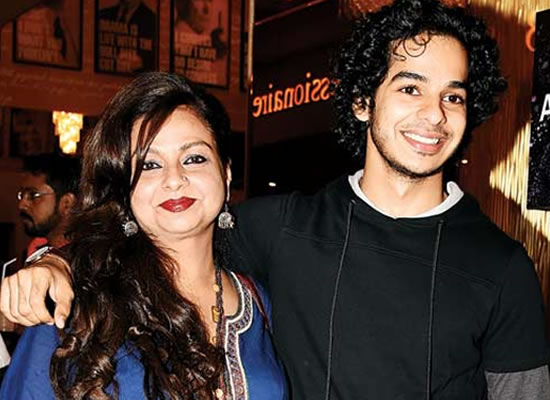 She has been the most important person in my life, says Ishaan Khatter on his mother!