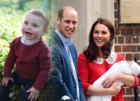 Kate Middleton and Prince William to share new photos of their adorable little Prince Louis!