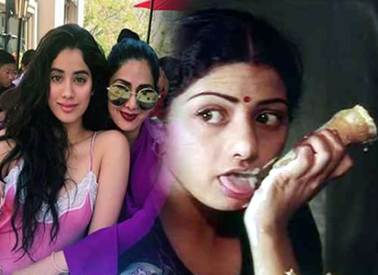 Janhvi Kapoor wants to play her mother's role in the remake of Sadma!