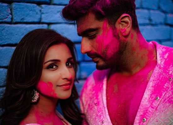 Arjun Kapoor and Parineeti Chopra's colourful love for Namaste England!