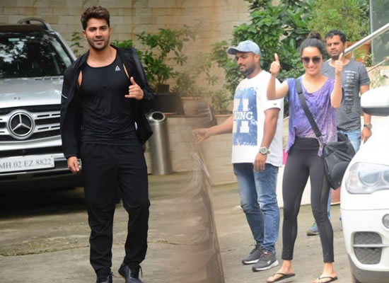 Varun and Shraddha to attend dance rehearsals for Street Dancer 3!