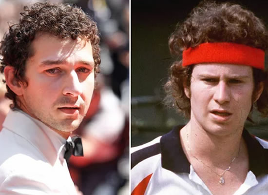 Shia LaBeouf to play John McEnroe in movie of Wimbledon legend's 1980 battle with Borg!
