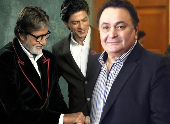 Fans want to see Big B and SRK, nobody wants to see me, says Rishi Kapoor!