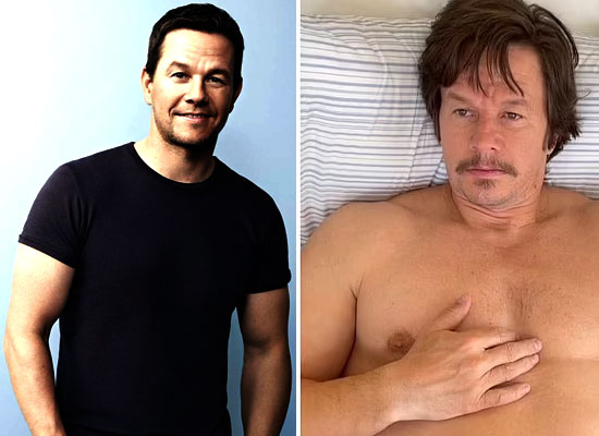 Mark Wahlberg gains a ton of weight for his next film Father Stu!