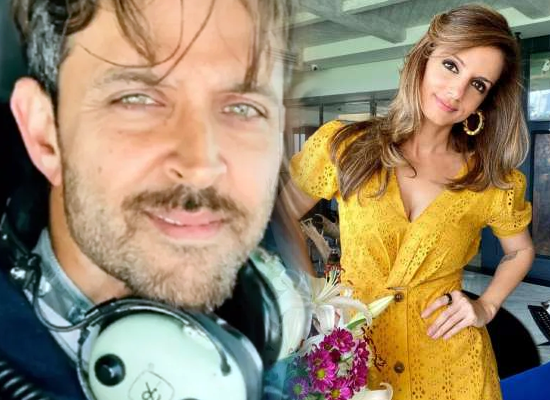 Hrithik Roshan's lovely comment on ex-wife Sussanne about her power looks!