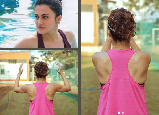 Taapsee Pannu to share about open ground training for Shabaash Mithu!