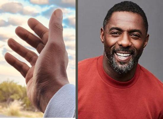 Idris Elba appeals for peace through social media!