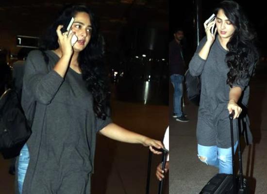 Anushka Shetty's no-makeup avatar!