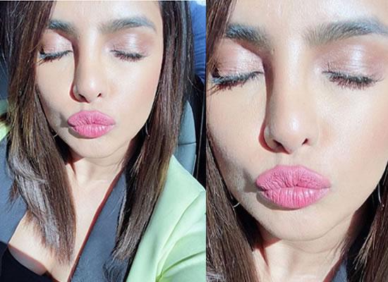 Priyanka Chopra's latest sun kissed selfie!