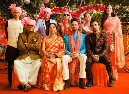 Ayushmann Khurrana to share a perfect Photo of his Shubh Mangal Zyada Saavdhan family!