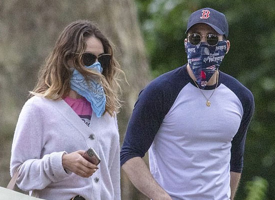 Chris Evans and Lily James's night out in London?