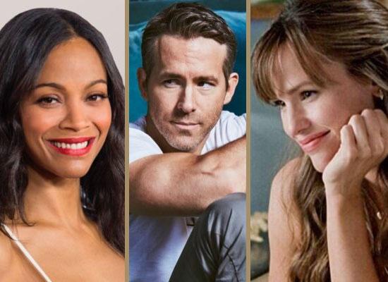 Zoe Saldana, Jennifer Garner and Ryan Reynolds team up for The Adam Project!