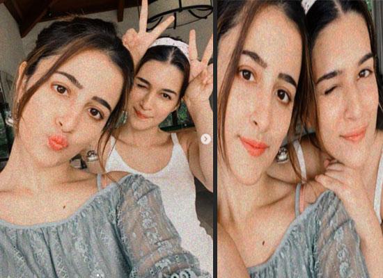 Kriti Sanon's goofy time with her sister Nupur Sanon!