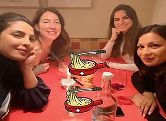 Priyanka Chopra to enjoy a party with her girl gang in 'winter wonderland'!