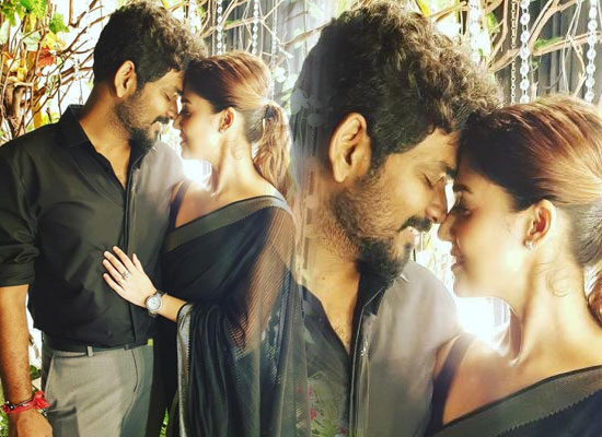 Vignesh Shivan's romantic moments with girlfriend Nayanthara!