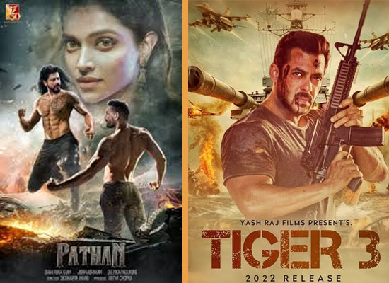 YRF's special show-reel for theatres to pronounce Pathan and Tiger 3!