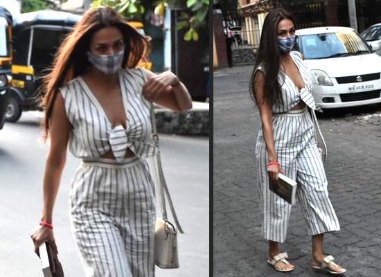 Malaika Arora to arrive for a salon session in Mumbai!