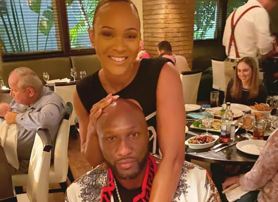 The former NBA star Lamar Odom announces his engagement to girlfriend Sabrina Parr!