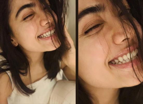 Rashmika Mandanna to share her messy hair selfie!