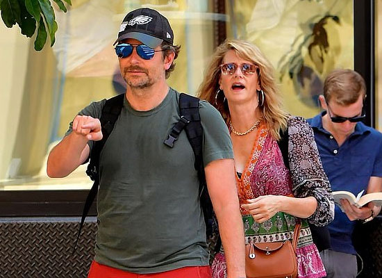 Laura Dern rubbishes dating rumours with Bradley Cooper!