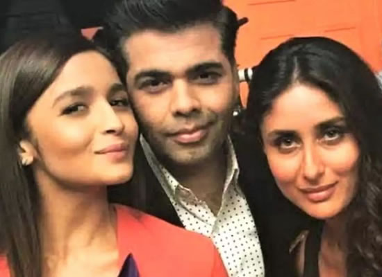 Kareena and Karan Johar open up on Alia and Ranbir's marriage!